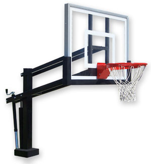 First Team Basketball Hoops From Basketball Hoops Unlimited Hydroshot Poolside Adjustable
