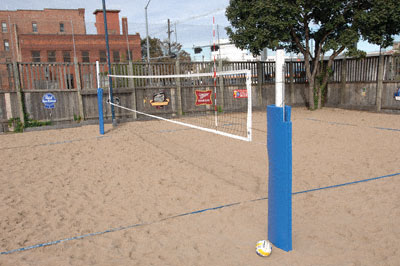 Match Point Volleyball System by Bison, Inc.